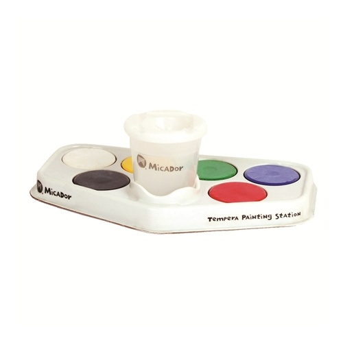 Micador - Tempera Painting Station (6 discs)